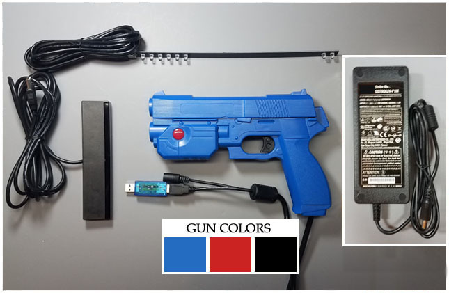 Extreme Modified AimTrak Recoil Light Gun Kit (By Arcade Guns)