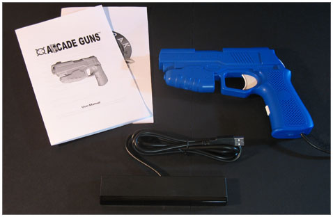 Starter Arcade Guns� PC Light Gun Kit (Blue)